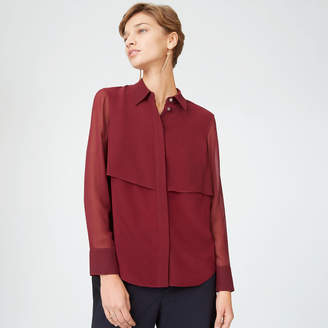 Club Monaco Bernee Silk Shirt