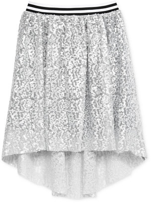 Kandy Kiss Sequined High-Low Skirt, Big Girls (7-16) $36 thestylecure.com