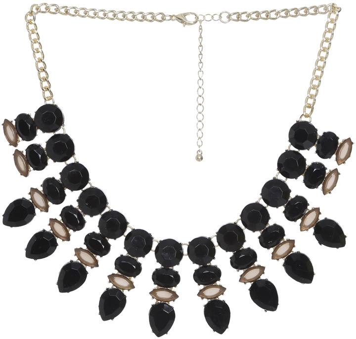 Arden B Starburst Stone Necklace