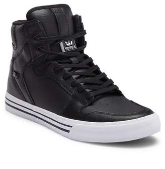 Supra Vaider Leather Hi-Top Sneaker