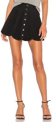 Understated Leather x REVOLVE Scalloped Skirt.