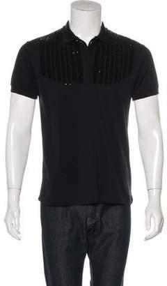 Christian Dior 2006 Sequin Polo Shirt