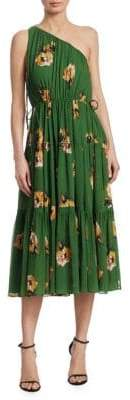 A.L.C. Tenley Floral Silk Dress