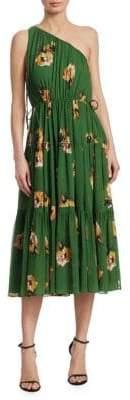A.L.C. Tenley Floral Silk Dress