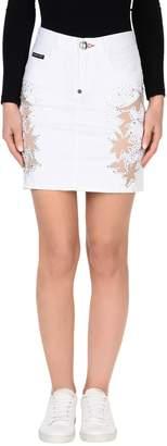Philipp Plein Denim skirts