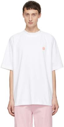 Acne Studios Bla Konst White Bassetty Uni T-Shirt