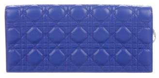 Christian Dior Cannage Leather Clutch