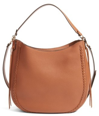 Rebecca Minkoff Unlined Convertible Whipstitch Hobo - Beige $325 thestylecure.com