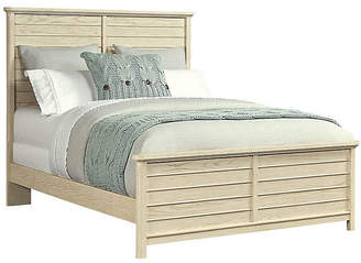 Stone & Leigh Driftwood Park Panel Bed - Whitewash