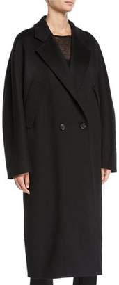 Max Mara Zelig Cashmere Long Cape Coat