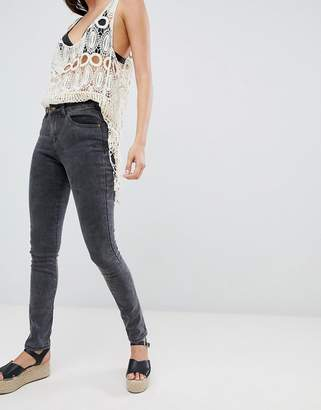 Brave Soul Joey Skinny Jeans with Embellished Back Pockets