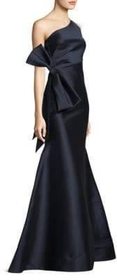 Sachin + Babi One-Shoulder Floor-Length Gown