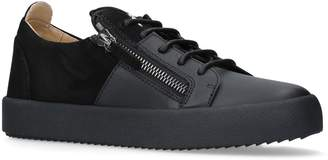 Giuseppe Zanotti Suede Frankie Sneakers