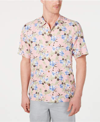 92fe2d6a Tommy Bahama Men Floral Pacific Paradise Hawaiian Shirt