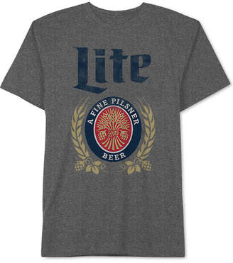 Hybrid Miller Lite Men's T-Shirt by Apparel