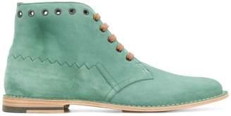 Bottega Veneta thyme suede maldon boot
