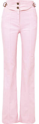 Chloé High-rise Flared Jeans - Pastel pink