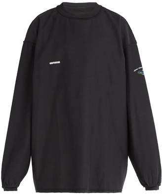 Vetements Shark print cotton sweater