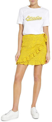 Glamorous Yellow Spot Skirt