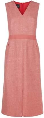 Akris Linen Midi Dress