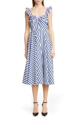 Jason Wu Collection Stripe Cotton Day Dress