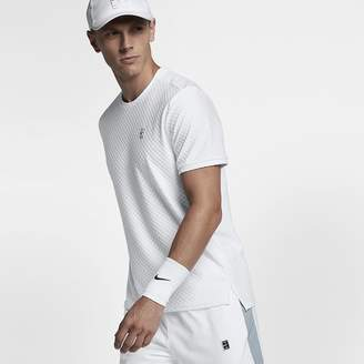 Nike NikeCourt Men's Short Sleeve Tennis Top