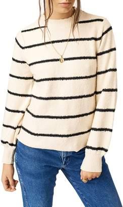 STONE ROW Foiled Again Stripe Sweater