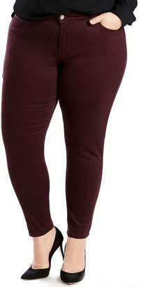 Levi's Levis Plus Size 711 Skinny Ankle Jeans