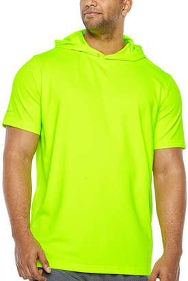 Co THE FOUNDRY SUPPLY The Foundry Big & Tall Supply Short Sleeve Hoodie-Big and Tall