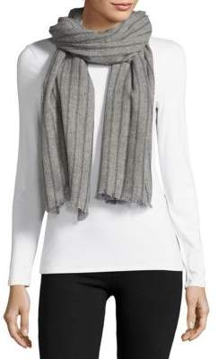 Striped Cashmere Scarf $250 thestylecure.com