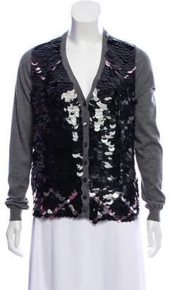 Marni Cashmere Embellished Cardigan