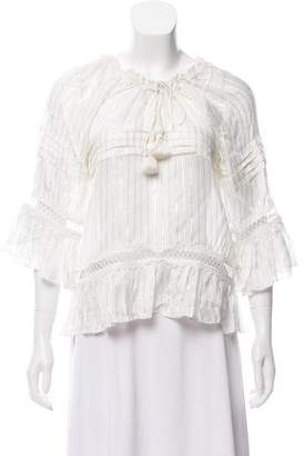 Tryb 212 Ruffle Accented Blouse w/ Tags