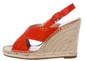 Joie Suede Sandal Wedges