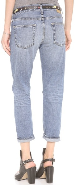 AG Adriano Goldschmied The Drew Straight Leg Boyfriend Jeans