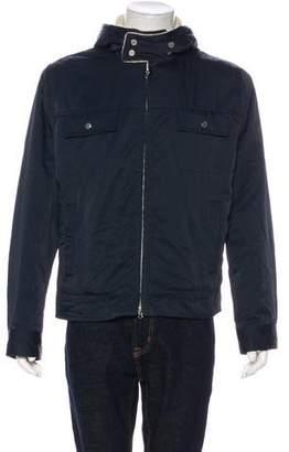 Marc Jacobs Hooded Fleece-Lined Jacket