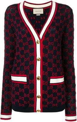 Gucci GG knitted cardigan