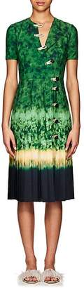 Altuzarra Women's Ilari Tie-Dyed Dress - Ceramic Green
