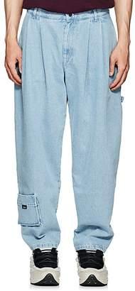 Gosha Rubchinskiy Men's Pleated Carpenter Jeans