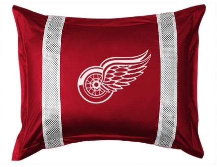 NHL Detroit Redwings Pillow Sham