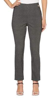 Rafaella Diamond Print Jacquard Pants
