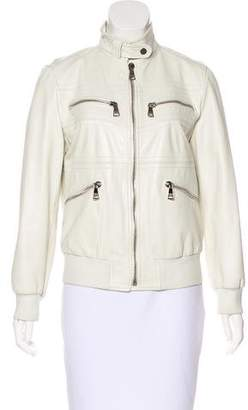 Dolce & Gabbana Mock Neck Zip-Up Jacket