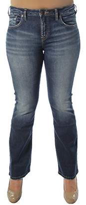 Silver Jeans Co. Women's Izzy High Rise Bootcut