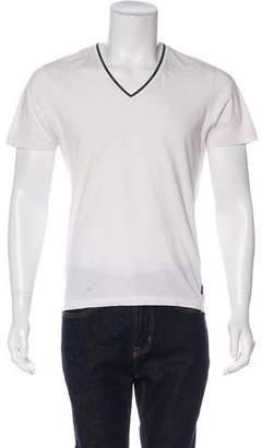 Gucci V-Neck Short Sleeve T-Shirt