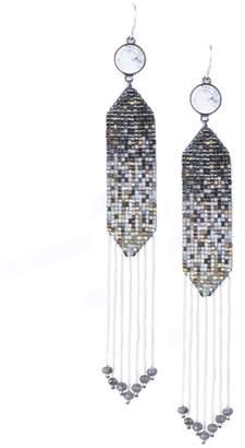 Mishky Beaded Ombre Earrings