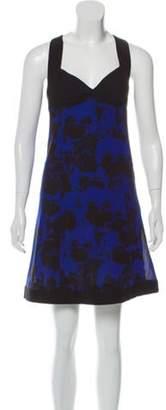 Sonia Rykiel Sleeveless Floral-Printed Dress Black Sleeveless Floral-Printed Dress