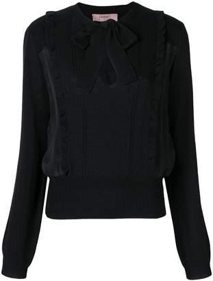 Twin-Set bow blouse