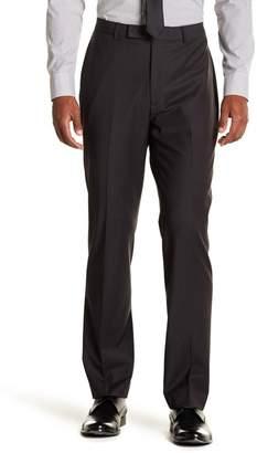 "Calvin Klein Solid Gray Wool Suit Pants - 30-34\"" Inseam"