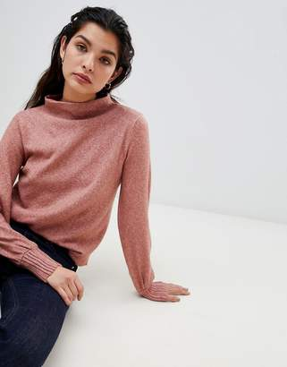 Vila Boat Neck Knit Sweater