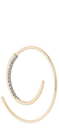 Maria Black 14kt yellow gold Spiral diamond earring