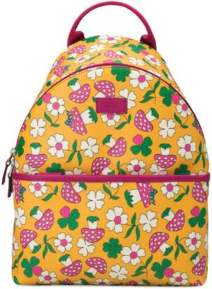 Gucci Children's backpack with mushrooms print